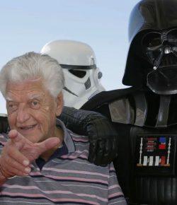 Dave Prowse, el Darth Vader que luchó contra la «discriminación» de Lucas